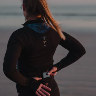 Gayaskin sportswear responsable ocean portrait